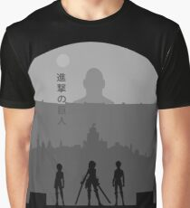 The wall is broken - AOT Graphic T-Shirt