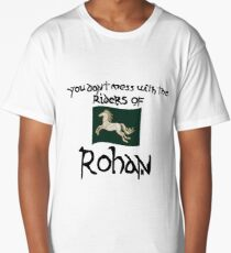 You Don't Mess With Rohan Long T-Shirt