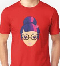 my little pony anime style equestria girls sci-twi Unisex T-Shirt