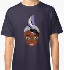 anime style equestria girl zecora, african american Classic T-Shirt