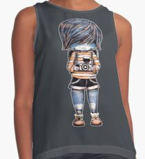 Smile Baby Photographer Contrast Tank