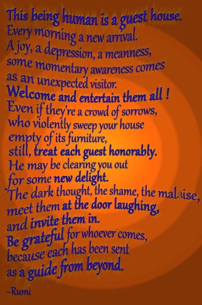 A favorite RUMI poem by TeaseTees