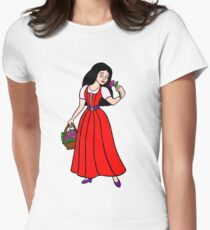 Snow White - The Fairest of the All Womens Fitted T-Shirt