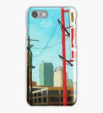 Coca Cola Park - urban landscape painting iPhone Case/Skin