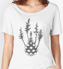 Cone Forest Women's Relaxed Fit T-Shirt