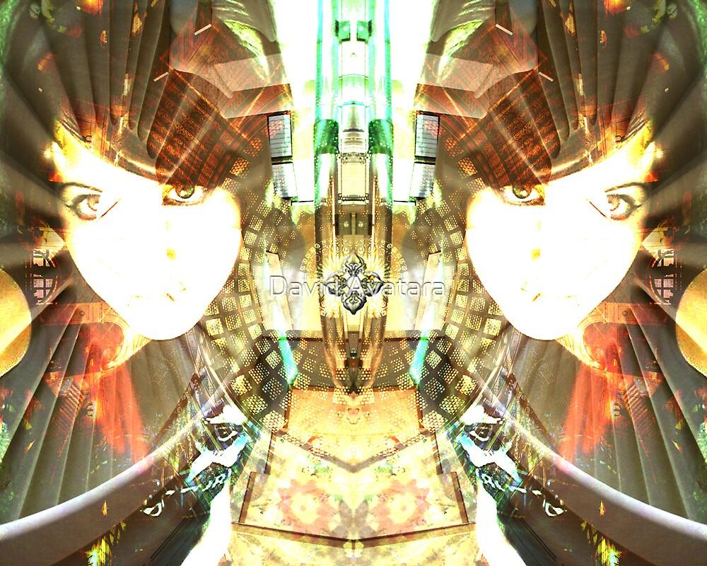 Double Dorje - Study 1 Of Kate by David Avatara