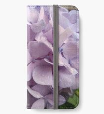 Purple Rainy Hydrangea iPhone Wallet/Case/Skin