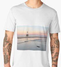Lighthouse Sunset - Rattray Head Men's Premium T-Shirt