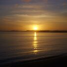 Sunset on Broadbay by Martin Campbell