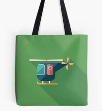Civilian Helicopter Tote Bag