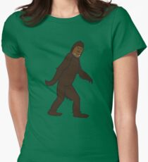 Bigfoot Women's Fitted T-Shirt