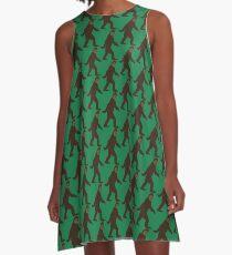 Bigfoot A-Linien Kleid