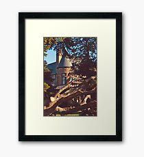 Dooley Mansion Framed Print