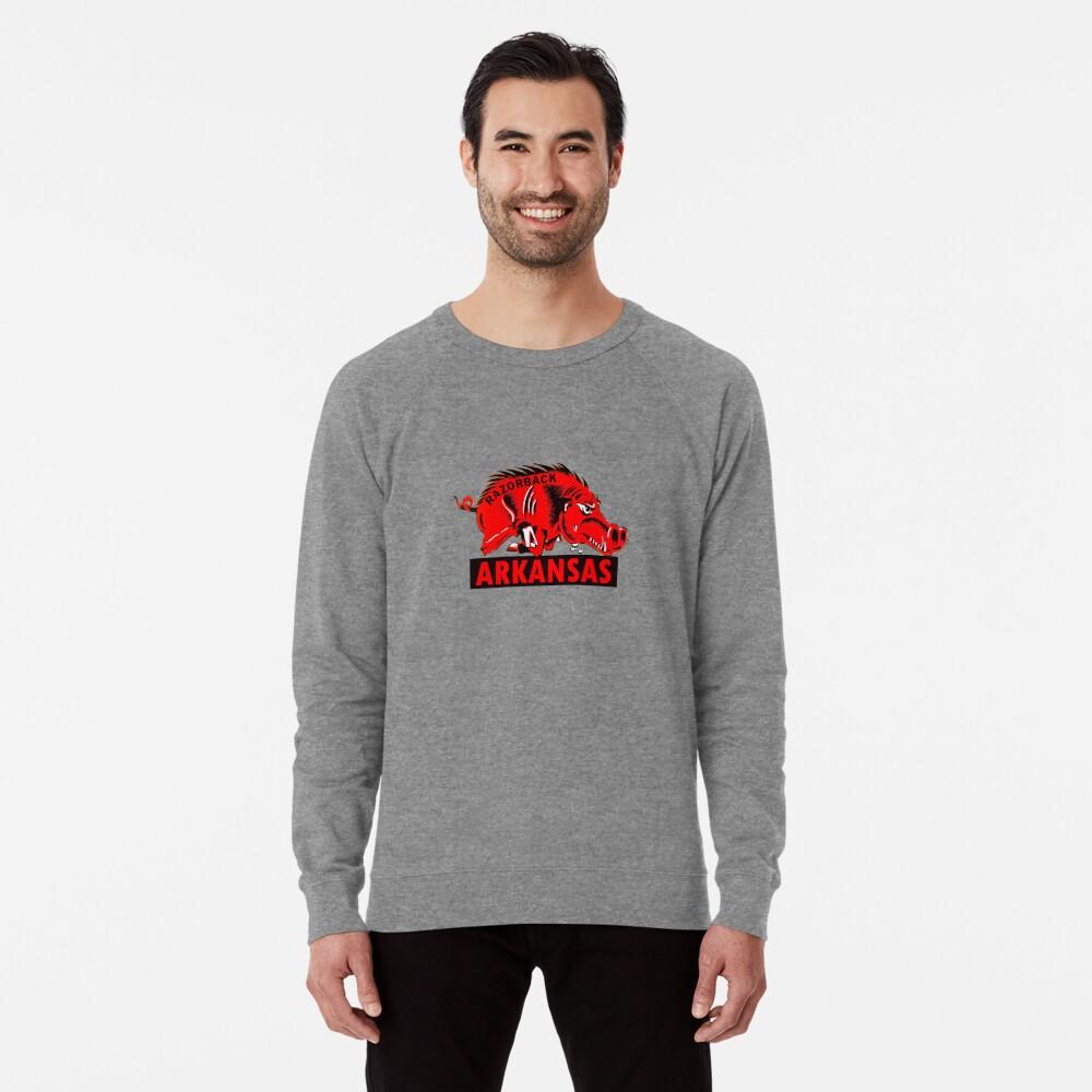 Arkansas Razorback Vintage Travel Decal Lightweight Sweatshirt
