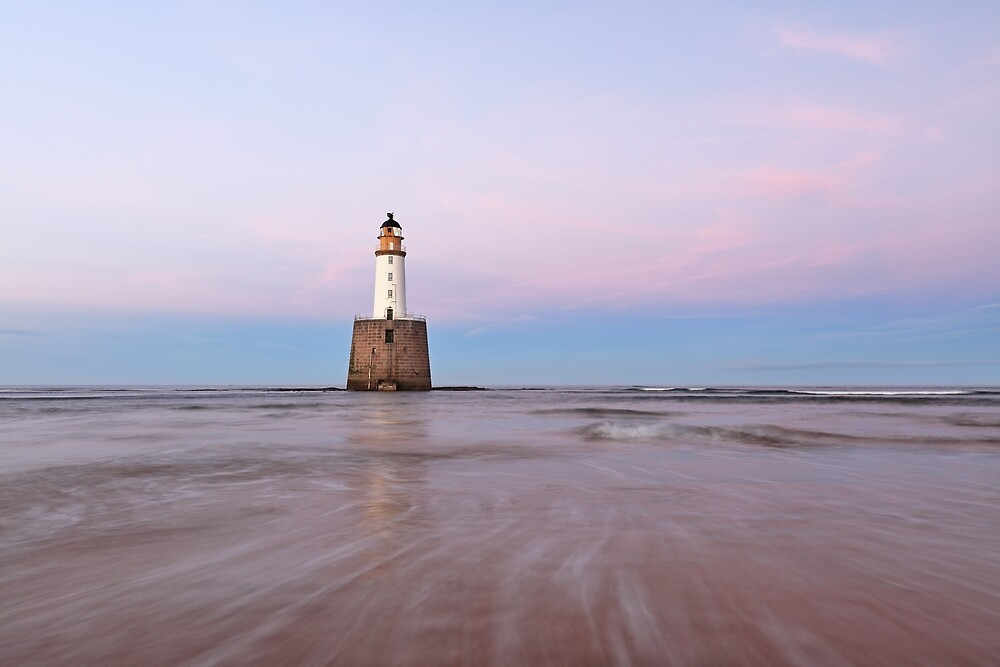 Lighthouse Sunset by Grant Glendinning