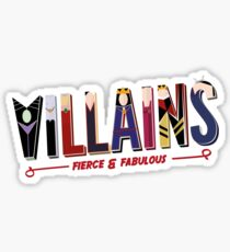 Villains Sticker