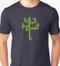 Digital cactus Unisex T-Shirt
