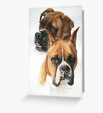 Boxers Greeting Card