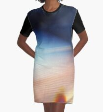accident Graphic T-Shirt Dress