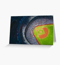 Toronto Blue Jays Sky Dome Baseball Stadium Greeting Card