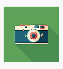 Vintage Film Camera Photographic Print