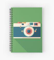 Vintage Film Camera Spiral Notebook