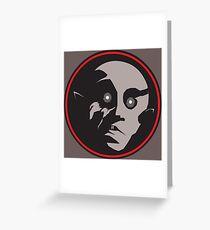 The Silent Vampyr Greeting Card