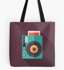 Hipster Instant Camera Tote Bag