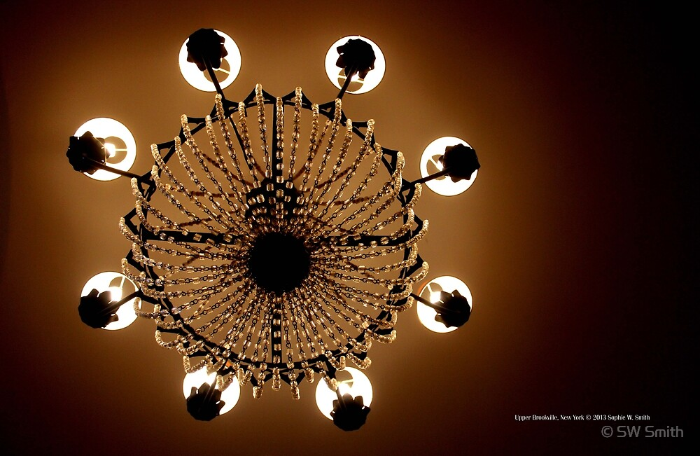 Coe Hall Chandelier | Upper Brookville, New York  by © Sophie W. Smith