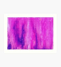 Pink and Streaked Art Print