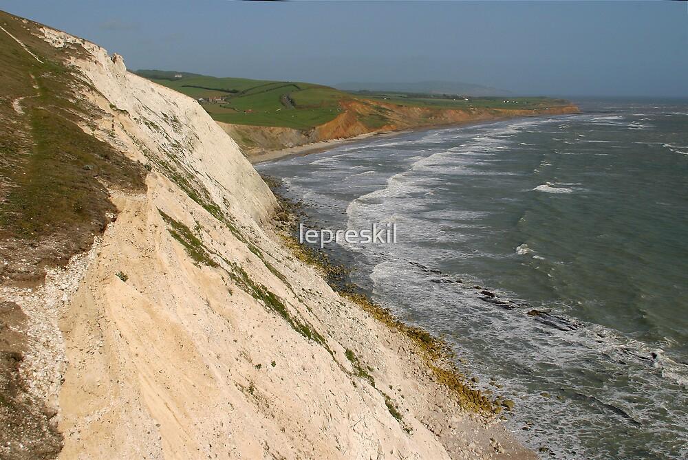 Afton Down Isle of Wight  by lepreskil