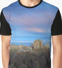 Dunnottar Castle Twilight Graphic T-Shirt