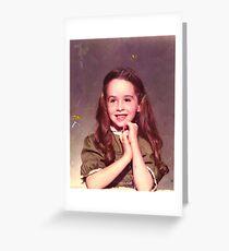 Third Grade Portrait Greeting Card