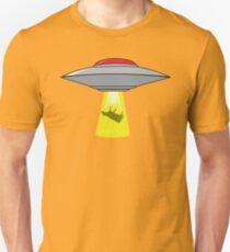 Martians Want Milk & Burgers! Unisex T-Shirt