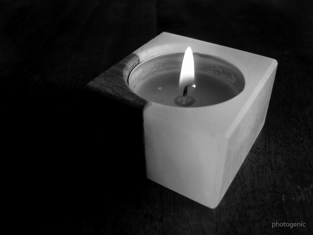 just a candle by photogenic