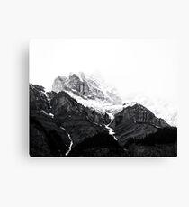 Mountains print, Nature, Landscape, Scandinavian, Nordic, Fashion print, Scandinavian art, Modern art, Wall art, Print, Minimalistic, Modern Canvas Print