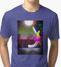 TV and the Girl Tri-blend T-Shirt
