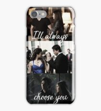 Damon and Elena iPhone Case/Skin
