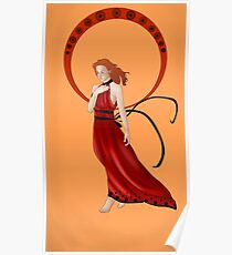 Tikki-Miraculous Ladybug Poster