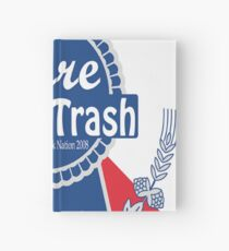 Pure White Trash Hardcover Journal