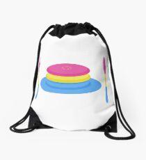 PANcake Drawstring Bag