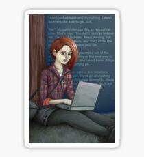 blogging Sticker