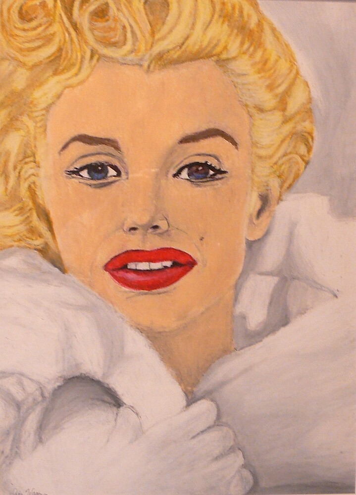 Norma Jean Baker by sara2442