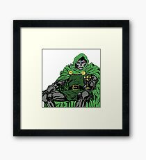 Dr DOOM  Framed Print