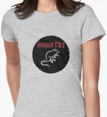 Mouse rat Women's Fitted T-Shirt