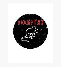 Mouse rat Photographic Print