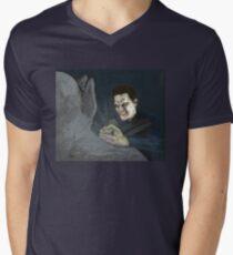Becoming, Part Two - Angelus - BtVS Men's V-Neck T-Shirt