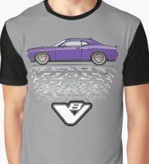 purple  Graphic T-Shirt