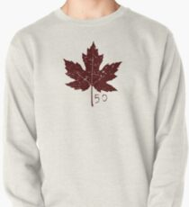 Red Maple Leaf Pattern T-Shirt