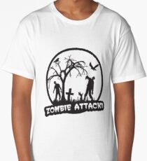 Zombie Attack! Long T-Shirt